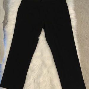 CJ Banks Pants - CJ Banks Classic Plain Front Trousers in petite